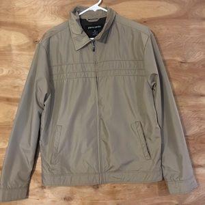 VTG Pierre Cardin mens M zip up jacket windbreaker